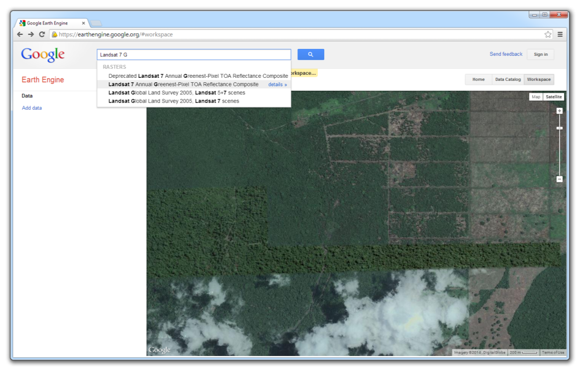 Assessing land use open foris select the dataset you wish to add when it appears in the list below the search field sciox Images
