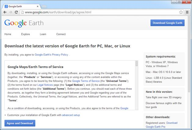 google earth pro app download for pc