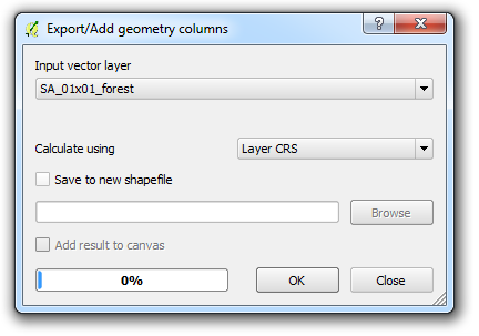 QGIS: Open Foris