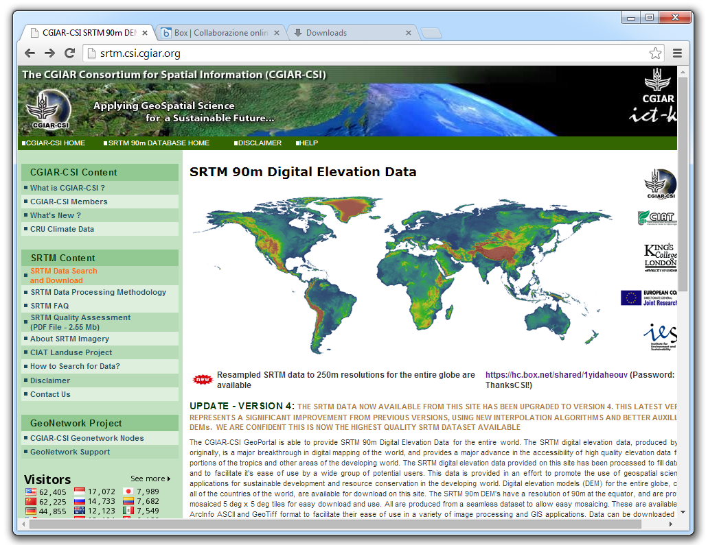 Qgis open foris the global dataset can be downloaded by region west northeast and southeast by clicking on this link and entering the password listed beside it gumiabroncs Gallery